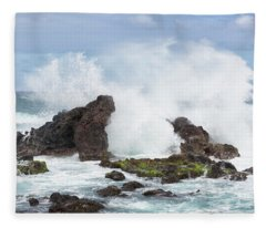 Hookipa Point Fleece Blanket