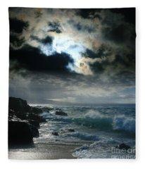 Hookipa Waiola  O Ka Lewa I Luna Ua Paaia He Lani Maui Hawaii  Fleece Blanket