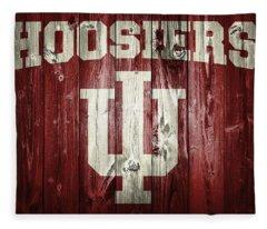 Hoosiers Barn Door Fleece Blanket