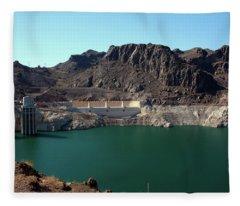 Hoover Dam Fleece Blanket