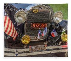Hoover Era Ford Fleece Blanket