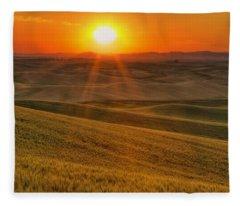 Hope And Glory Fleece Blanket