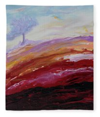 Hope Beyond The Lava Fleece Blanket