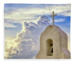 Fleece Blanket featuring the photograph Hope In The Storm by Rick Furmanek