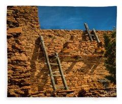 Hopi House Fleece Blanket
