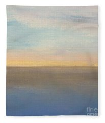 Horizon Aglow Fleece Blanket