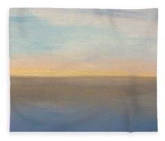 Horizon Aglow Fleece Blanket