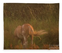 Horse 4 Fleece Blanket