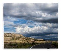 Horse Canyon By De Beque Colorado Fleece Blanket