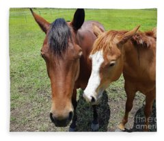 Horse Love Fleece Blanket