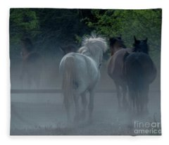 Horse 8 Fleece Blanket