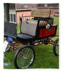 Horseless Carriage-c Fleece Blanket