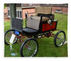 Horseless Carriage-c Fleece Blanket