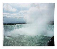 Horseshoe Falls Fleece Blanket