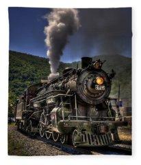 Hot And Steamy Fleece Blanket