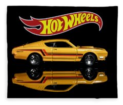 Hot Wheels '69 Mercury Cyclone Fleece Blanket
