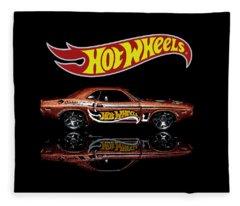 Hot Wheels '70 Dodge Challenger Fleece Blanket