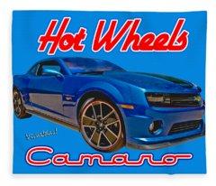 Hot Wheels Camaro Fleece Blanket