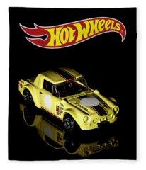 Hot Wheels Datsun Fairlady 2000 Fleece Blanket