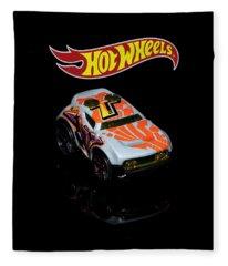 Hot Wheels Rocket Box Fleece Blanket