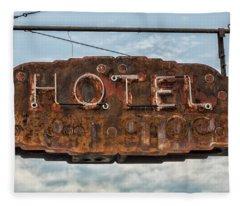 Hotel Pontotoc Fleece Blanket