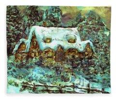 House Of Solace Fleece Blanket