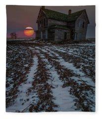 House Of The Rising Sun Fleece Blanket