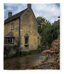 House On The Water Fleece Blanket