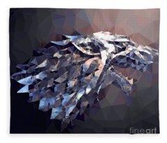 House Stark Fleece Blanket