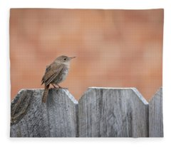House Wren 2018-2 Fleece Blanket