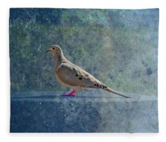 How Can You Just Leave Me Standing Fleece Blanket