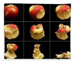How To Eat An Apple In 9 Easy Steps Fleece Blanket