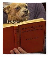 How To Train Dogs Fleece Blanket