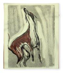 Howling For Joy Fleece Blanket