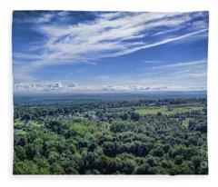 Hudson Valley View Fleece Blanket