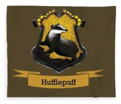 Hufflepuff Fleece Blanket