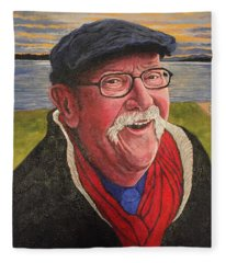 Hugh Hanson Davidson Fleece Blanket