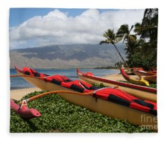 Hui Waa O Kihei Fleece Blanket