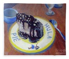 Hula Pie Ice Cream Dessert Fleece Blanket