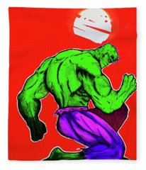 Hulk Fleece Blanket
