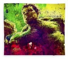 Hulk Smash Fleece Blanket
