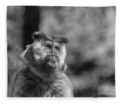 Human Thoughts Fleece Blanket