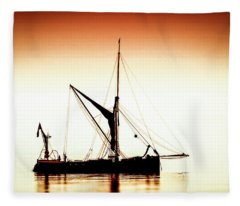 Humber Coble Fleece Blanket