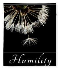 Humility Fleece Blanket