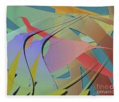 Hummingbird Convention Fleece Blanket