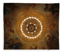 Hungarian State Opera House For Prints Fleece Blanket