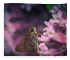 Hungry Moth Fleece Blanket