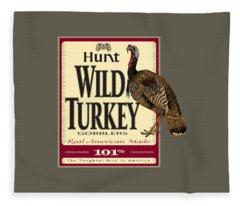 Hunt Wild Turkey Fleece Blanket