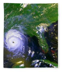 Hurricane Andrew, Goes Image, 1992 Fleece Blanket