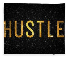 Hustle Fleece Blanket